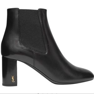 NWT SAINT LAURENT MONOGRAM LOULOU LEATHER BOOTIE